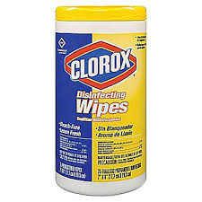 CLOROX LEMON WIPES