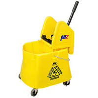 M2 Elephant Foot Bucket and Wringer-40qt *Special Order*