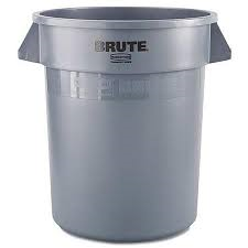 rubbermaid brute grey