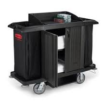 rubbermaid cleaning cart 619100 b