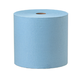 Spun Lace Wiper Roll- Blue 700′