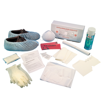 Blood & Bodily Fluid Clean-Up Kit
