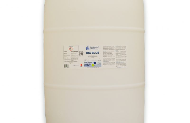 CONTRACTOR'S CHOICE Big Blue Cleaner- 205L Drum