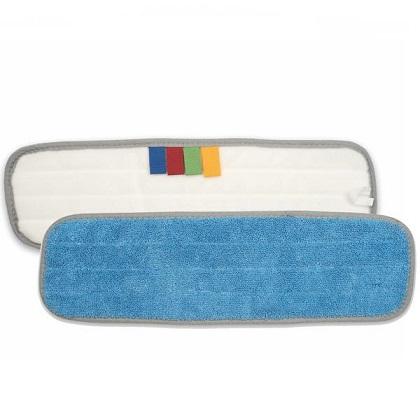 Microfiber Flat Mop – Blue Pad