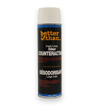 BETTER THAN…Aerosol Odour Counteractant 389G- Various Scents